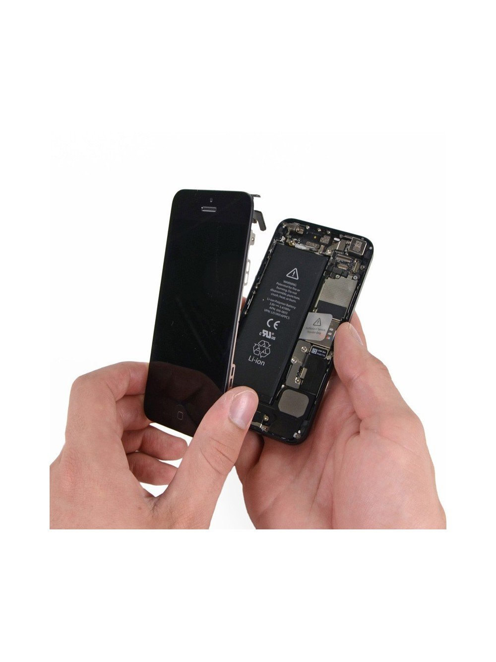 repair with original screen the iphone 5 pc express luxembourg. Black Bedroom Furniture Sets. Home Design Ideas