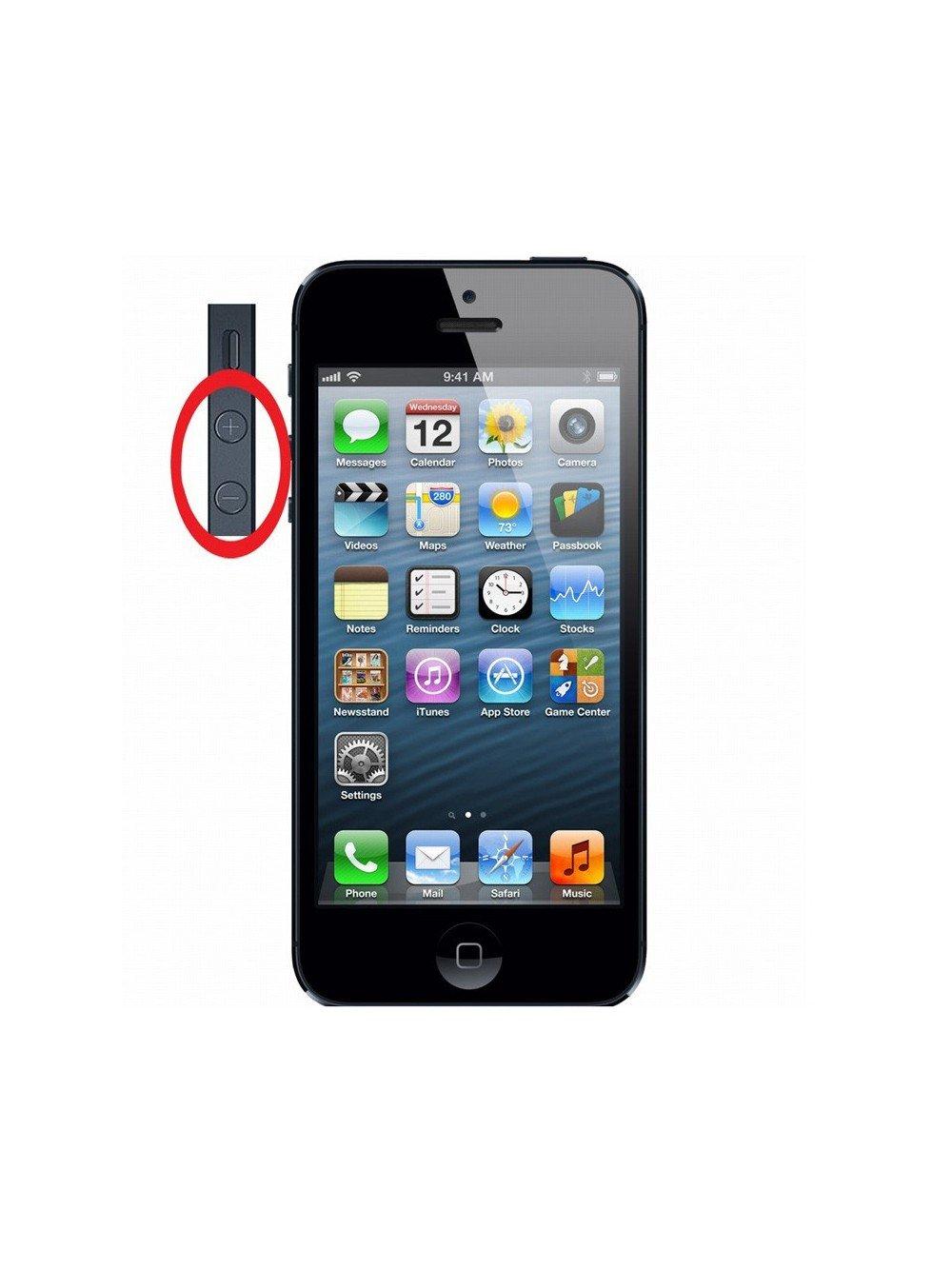 Reparer Bouton Volume Vibreur iPhone 5