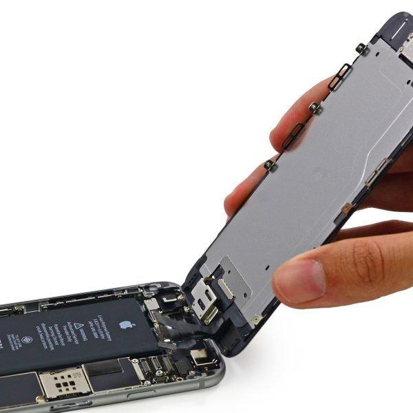 reparation vitre iPhone 6 Plus Blanc