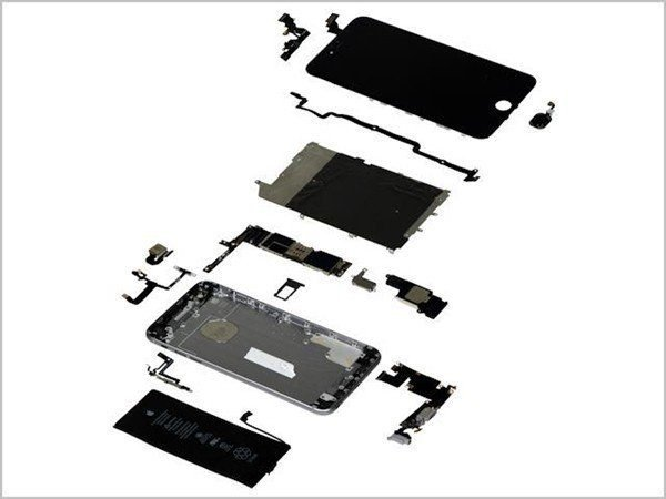 reparation vitre iPhone 6 Plus Blanc