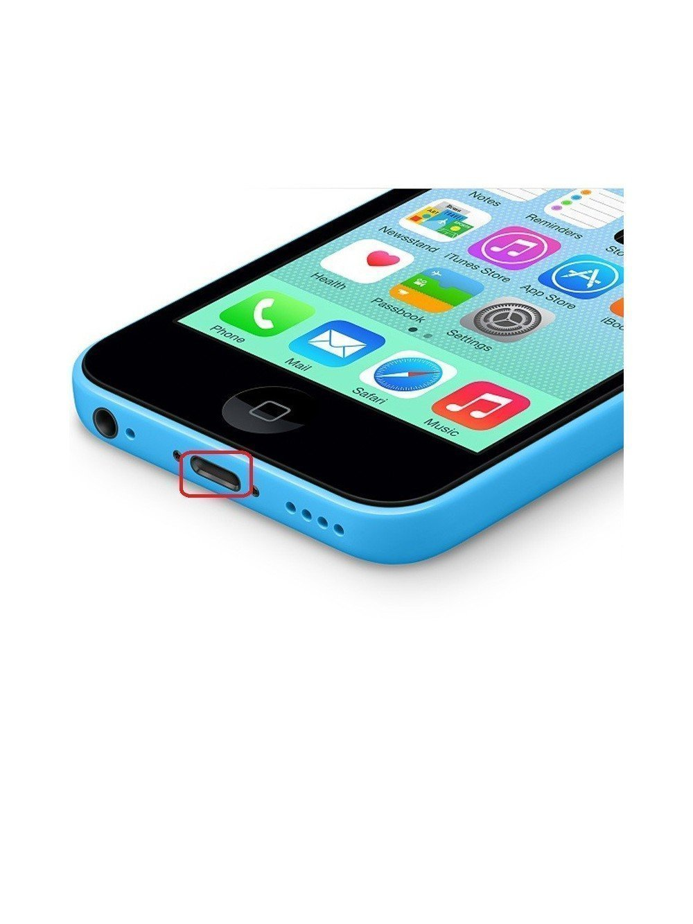 r parer dock iphone 5c connecteur de charge au luxembourg. Black Bedroom Furniture Sets. Home Design Ideas