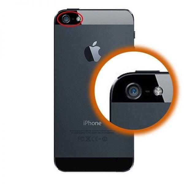 Réparation Camera Arrière iPhone 5