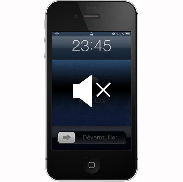 Réparation Haut Parleur iPhone 4S