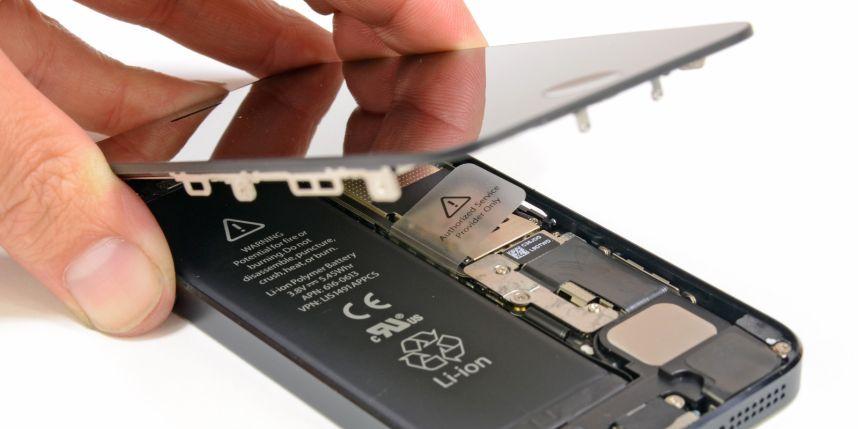 Réparation pas cher Vitre iPhone 5S
