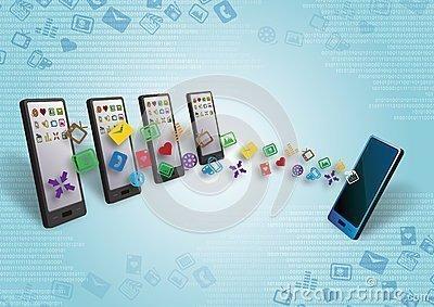 Transfert De Donnes Entre Smartphones