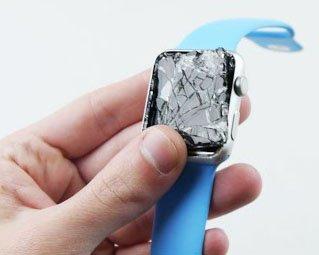 réparer montre apple écran cassée