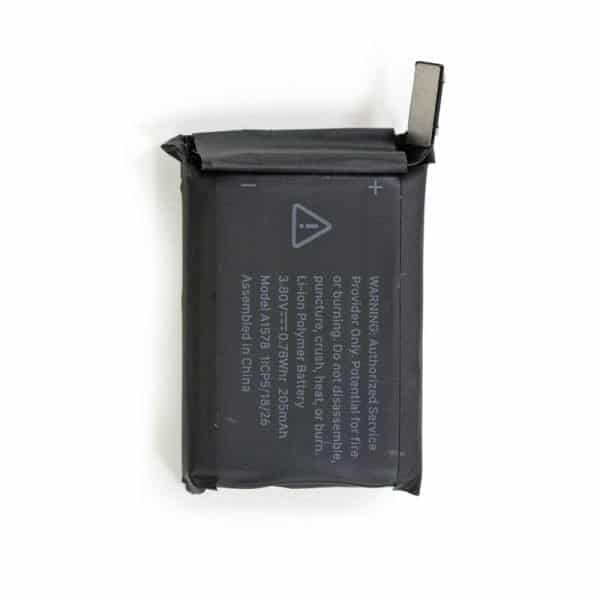 change apple watch 1 battery