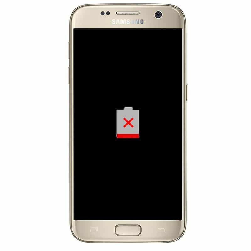 change Samsung S7 Battery
