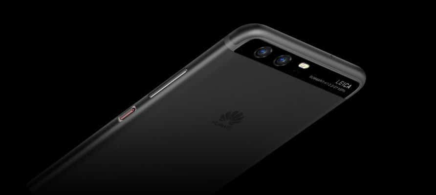change Huawei P10 screen