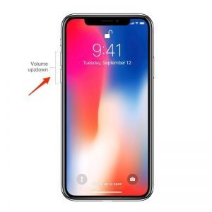repair iPhone X Volume