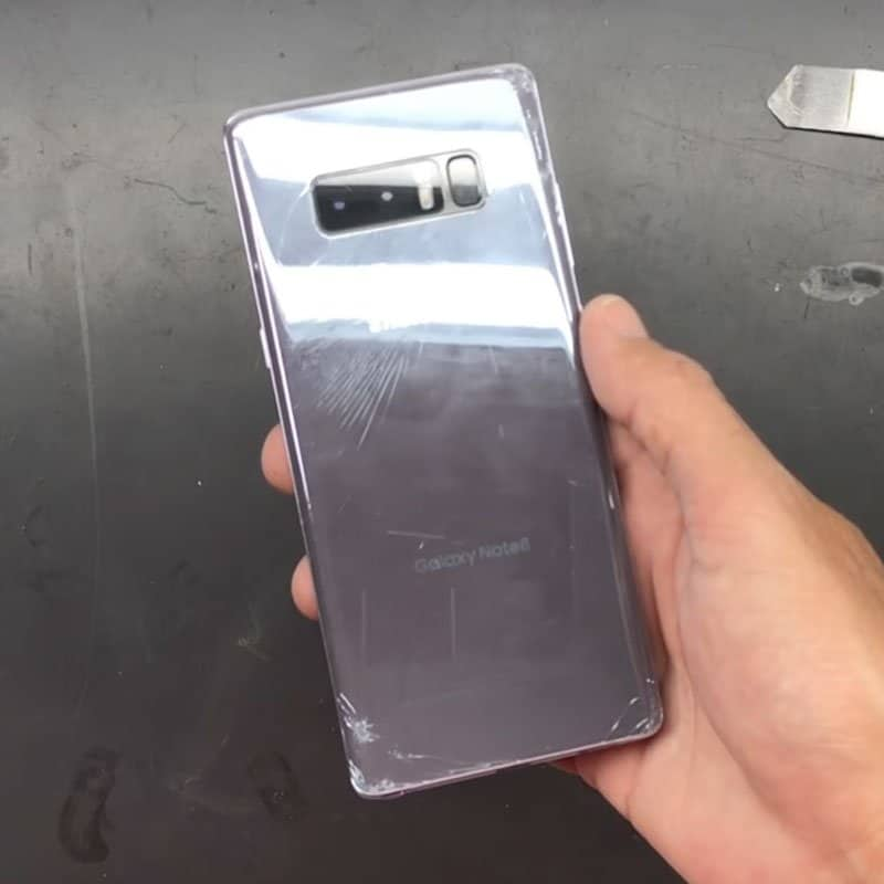 replace Back Cover Samsung Note 8