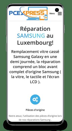 Réparation Samsung S10 au Luxembourg