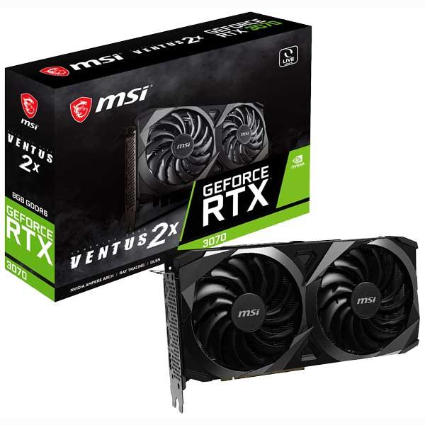 carte graphique MSI GeForce RTX 3070 VENTUS 2X 8G
