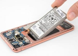 Remplacement Batterie Samsung S10E