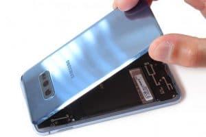 Remplacer Vitre Arrière Samsung S10E