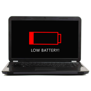 low battery laptop