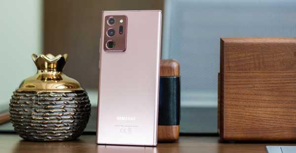 Réparation vitre Samsung Galaxy note 20 avec garantie au Luxembourg