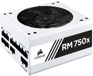 alimentation Corsair RM750x blanc 80PLUS Gold