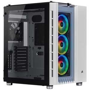 boitier Corsair Crystal 680X RGB blanc